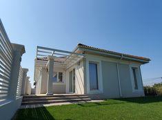 Casa pe parter in Corbeanca | CoArtCo Garage Doors, Outdoor Decor, House, Home Decor, Garden, Sun, Houses, Modern, Homemade Home Decor