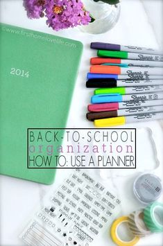 Thinking of starting to use a planner for this upcoming school year? Here's how I utilize mine and what supplies I use to keep me organized.