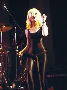 Debbie Harry , one of my favorite looks for BLONDIE...