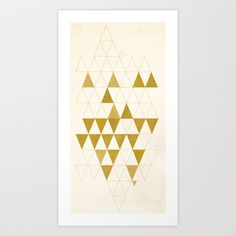 Buy My Favorite Shape by Krissy Diggs as a high quality Art Print. Worldwide shipping available at Society6.com. Just one of millions of products…