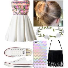 Untitled #109 by jordynchaput on Polyvore featuring polyvore, fashion, style, Converse, NLY Accessories and Accessorize
