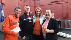 ABC's Young Leaders committee members kick-off the Orioles' season!