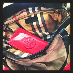 #toryburch #burberry #wallet #pink #bags