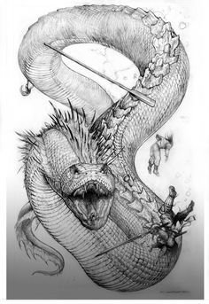 """Here is one of the Creatures featured in the """"Bizantium and Northern Islands"""" book that is published by PalladiumBooks for is Palladium Fantasy pen & paper RPG game line. Created an..."""