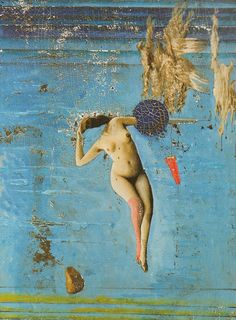 Because a man's sensitivity must often be repressed, the anima is one of the most significant autonomous complexes of all. It is said to manifest itself by appearing in dreams. (Painting: Max Ernst)..Surrealism