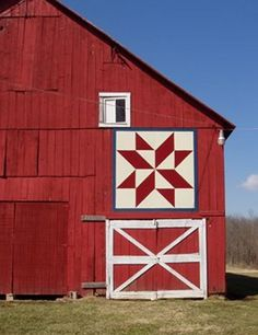 Greenfield Historical Society, Diamond Star - I love how these barns dot our U.S. landscape.