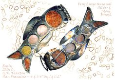 Large 19th C Agate & Silver Koi Brooch ~ R C Larner Buttons at eBay  http://stores.ebay.com/RC-LARNER-BUTTONS