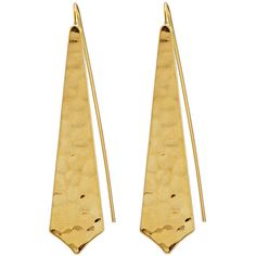 Panacea Golden Hammered Drop Earrings (190 ARS) ❤ liked on Polyvore featuring jewelry, earrings, gold, drop earrings, teardrop earrings, panacea jewelry, hammered jewelry and hammered earrings