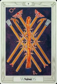 Crowley Thoth Tarot ► Valour
