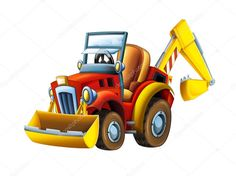 Illustration Children, Free Cartoons, Children Images, Photo Library, Caricature, Small Businesses, Tractors, Clip Art, Stock Photos