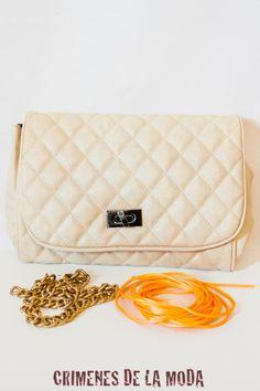 DIY Neon chain handbag | Crimenes de la Moda