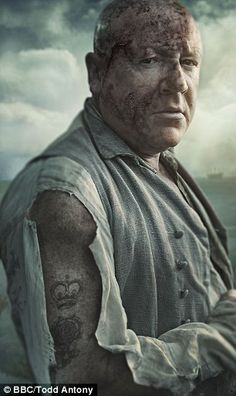 The villainous Abel Magwitch is played by Ray Winstone. BBC's 'Great Expectations'.