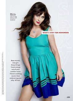 Zooey Deschanel - Cosmopolitan USA - November 2016