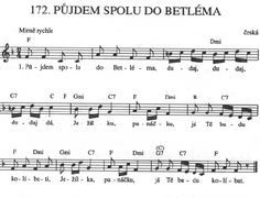 Půjdem spolu do Betléma - Víra. Aa School, School Clubs, Easy Piano Sheet Music, Ukulele Chords, Kids Songs, Czech Republic, Christmas, Youtube, Dresses