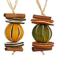 Buy Jormaepourri Midwinter Dried Fruit Hanger, Assorted Online at johnlewis.com