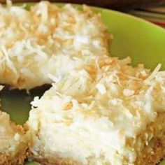 Bars These cheesecake bars taste just like a tropical island getaway. And who couldn't use that during this time of year? via cheesecake bars taste just like a tropical island getaway. And who couldn't use that during this time of year? Cheesecake Bars, Cheesecake Recipes, Coconut Cheesecake, Cookie Desserts, Just Desserts, Hawaiian Desserts, Hawaiian Recipes, Pineapple Dessert Recipes, Hawaiian Luau