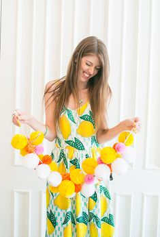 Pucker up citrus themed bridal shower | Photo by You Look Lovely | Read more - http://www.100layercake.com/blog/?p=78315