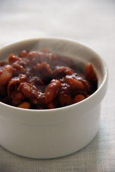 haricots blancs façon baked beans - notparisienne.fr