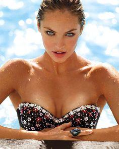 Candice Swanepoel is Victoria's Secret 'Swim 2013' cover model