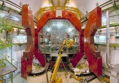 ALICE detector, Cern Who would have thought you would need so much science to find an Alice...