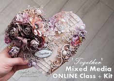 Together - Mixed Media Online Class + products KIT