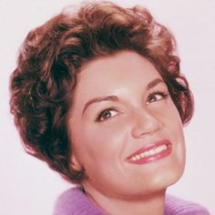 """Connie Francis signed with MGM Records in 1955 Famous for the hit """"Who's Sorry Now""""."""