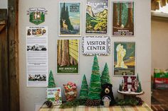 """Vintage National Park/Camping Themed 3rd Birthday """"Holden National Park""""   CatchMyParty.com"""