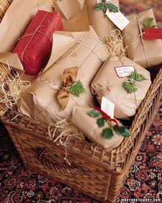 Gift wrapped  http://www.marthastewart.com/