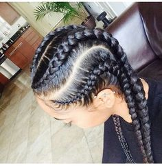 6 Braids Ideas 31 stylish ways to rock cornrows stayglam 6 Braids. Here is 6 Braids Ideas for you. 6 Braids 31 stylish ways to rock cornrows stayglam. 6 Braids 6 best mohawk braids for natural hair in 2019 a. Natural Hair Care, Natural Hair Styles, Natural Braids, Ghana Braid Styles, Ghana Braids, African Braids, Bun Styles, Twist Styles, Ponytail Styles