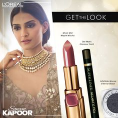 Sonam Kapoor Cannes 2014 makeup breakdown, Sonam Kapoor cannes 2014 makeup look products, cannes 2014