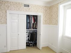 Check out this installation of white, hollow core, Bi-Folding Closet Doors with colonial-textured panels recently installed in Upland, California! Do your old closet doors need an upgrade? We understand. Visit www.bifoldclosets.com to see all of your many customization options, or call (866) 567-0400 to have yours installed!