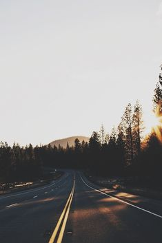 The open road - Traveling