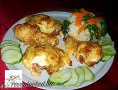 Érdekel a receptje? Kattints a képre! Croatian Recipes, Hungarian Recipes, Meat Recipes, Chicken Recipes, Green Eggs And Ham, Tasty, Yummy Food, Main Meals, No Cook Meals