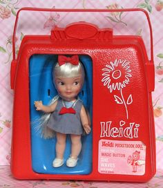 Hi Heidi from the 1960s.  * my Aunt Stella bought me this, and my sister the one in a pink case~ so exciting!*