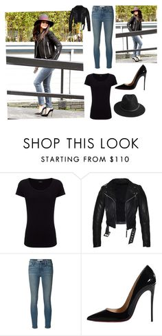 """""""Untitled #1333"""" by michelle-burns-steed ❤ liked on Polyvore featuring Joseph, Frame Denim, Christian Louboutin and BeckSöndergaard"""