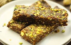 7 Protein-Packed Post-Workout Snacks: No-Bake Cherry Pistachio Bars