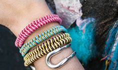 I Spy DIY: MY DIY | Fishtail Braid Bracelet