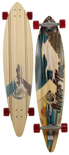 Sector 9 Madiera Longboard Skateboard - Red For Sale at Surfboards.com (49110151)