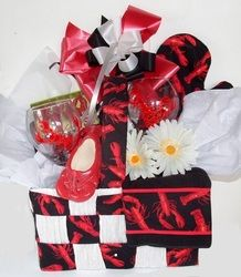 Lobster themed gift basket