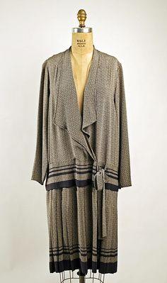 Date: ca. 1926 Culture: American Medium: silk 1920s Fashion Women, 70s Fashion, Couture Fashion, Fashion Dresses, Vintage Fashion, Fashion Tips, Fashion Mask, Fashion Websites, Young Fashion