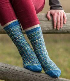 Daisy Field Socks Pattern