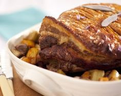 Slow roast shoulder of pork by Rachel Allen (ex Rachel Allen's Easy Meals)