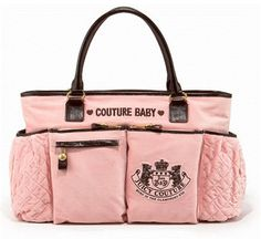 a2fc19a275 Juicy Couture baby bag almost as sweet as my baby phat diaper bag i used  with