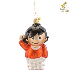 Fritzchen Xmas, Christmas Ornaments, Holiday Decor, Party, Humor, Orange, Glee, Christmas Jewelry, Childhood