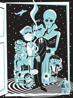 """The Twilight Zone"" Art Print by Ridge"
