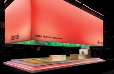 Simple design with great use of color #exhibitdisplay #exhibitionstand