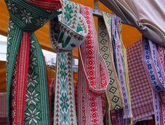 Traditional Belts — Kaziuko Muge 2011bySpalvaonFlickr    Lithuanian folk belts