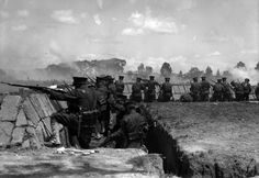 Federal Troops in Action