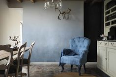 Dulux Colour of the Year 2017 - Mad About The House: Dulux Colour Futures: Clock Face, Borrowed Blue, Earl Blue, Denim Drift and Indigo Shade in paint effects. Interior Design Tips, Interior Inspiration, Denim Drift, 2017 Decor, Color Of The Year 2017, Mad About The House, World Of Interiors, Ideal Home, Colours