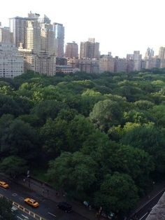 New York Athletic Club view of Central Park